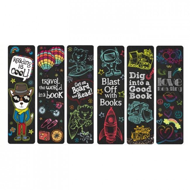Bookmarks For Books | Reading Rocks, Cool Design 36 Pack. Free intended for Cool Bookmarks For Books 27230