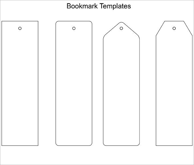 Bookmarks For Books Template   World Of Example with regard to Bookmarks For Books Template 27240