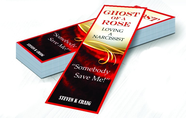 Bookmarks For Promotion And Marketing A Book. intended for Bookmarks For Books Designs 27943