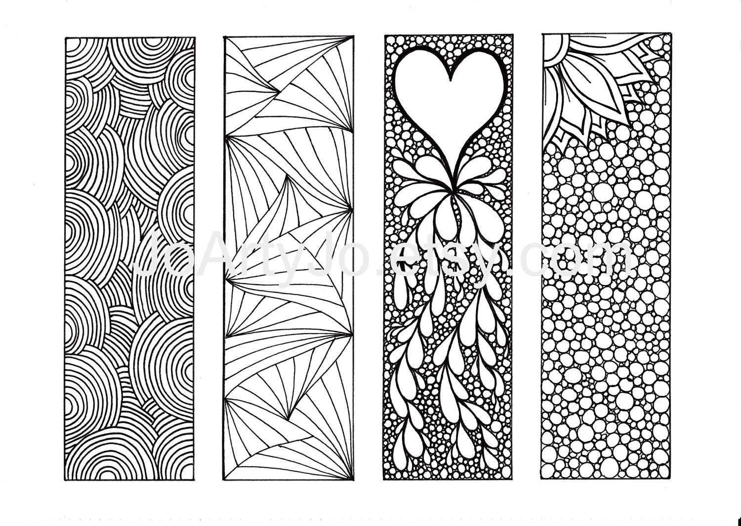 Cool Bookmarks To Print And Color | Examples and Forms
