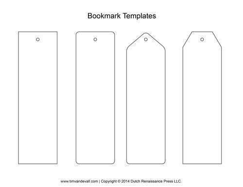 Bookmarks To Make And Print | World Of Example with Bookmarks To Make And Print 29712