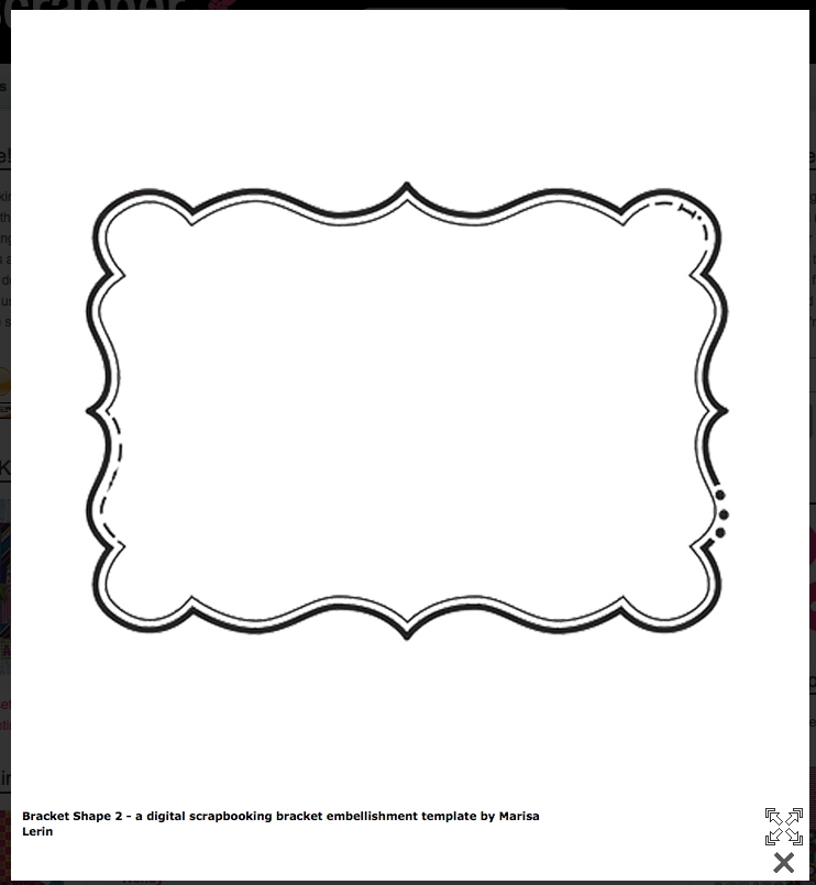 Bracket Shape- Free Templates! | Cards & Envelopes | Pinterest with Bracket Label Shape Templates 29361