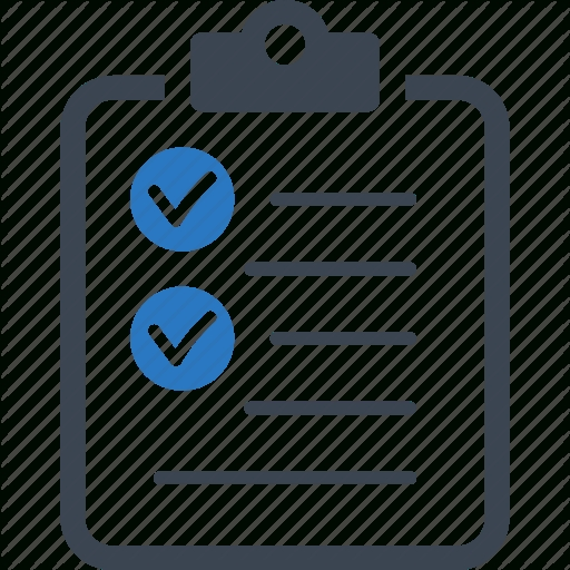 Business Tasks, Check Mark, Checklist, To Do List Icon | Icon within Checklist Icon Transparent 25946