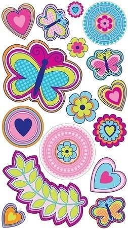Butterfly Stickers For Scrapbooking | World Of Example inside Butterfly Stickers For Scrapbooking 26493