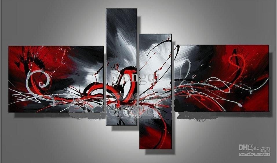 Buy Cheap Paintings For Big Save, Hand Painted Hi Q Modern Wall pertaining to Modern Wall Art Painting 29784