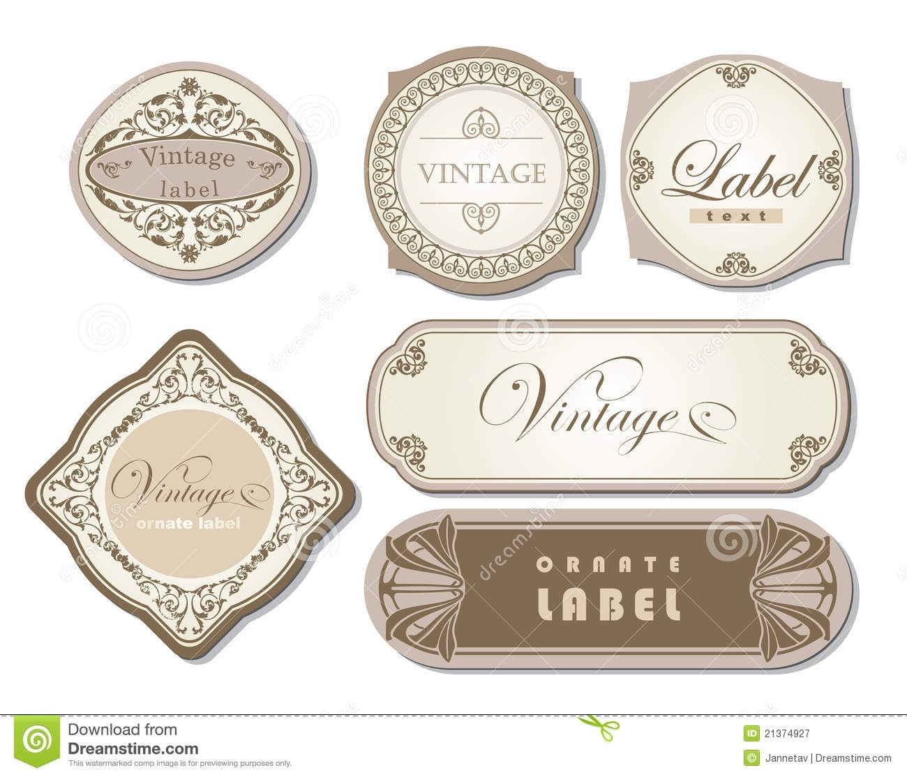 Candle Label Templates Free - Google Search | Templates pertaining to Vintage Label Free Download 29371