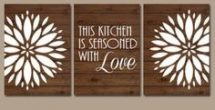 Kitchen Wall Art Canvas