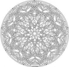 Celtic Heart Knot Coloring Page - Google Search | Celtic Heart with regard to Detailed Mandala Coloring Pages For Adults 29491