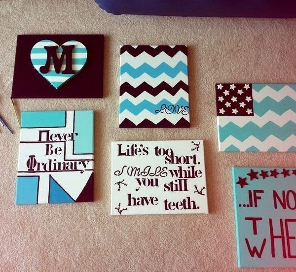 Charming Easy Diy Canvas Paintings #28 – Easy Diy Canvas Wall Art for Wall Art Painting For Dorm 30084