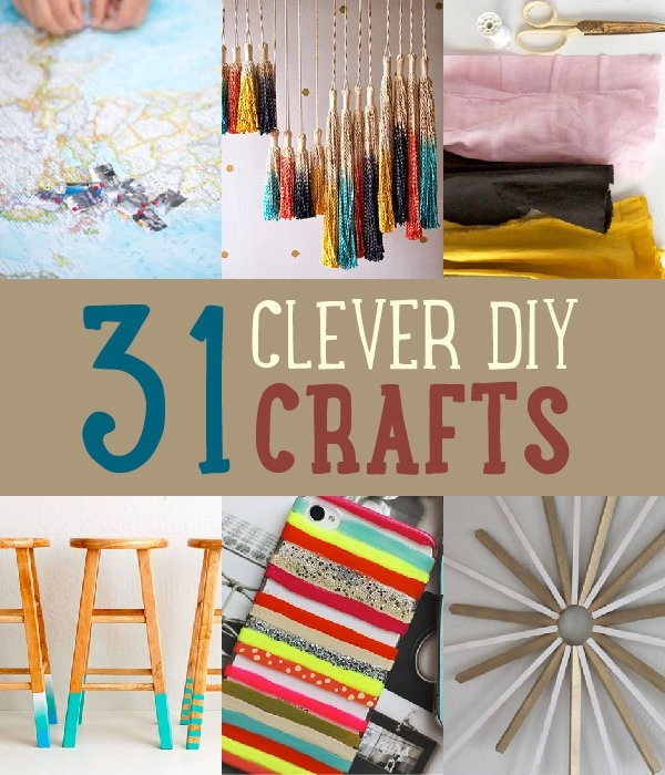 Art and craft ideas for home decor step by step examples for Home decor arts and crafts ideas