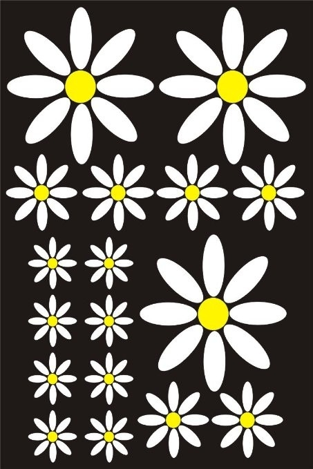 Cheap Daisy Car Stickers, Find Daisy Car Stickers Deals On Line At with Daisy Flower Stickers 28289