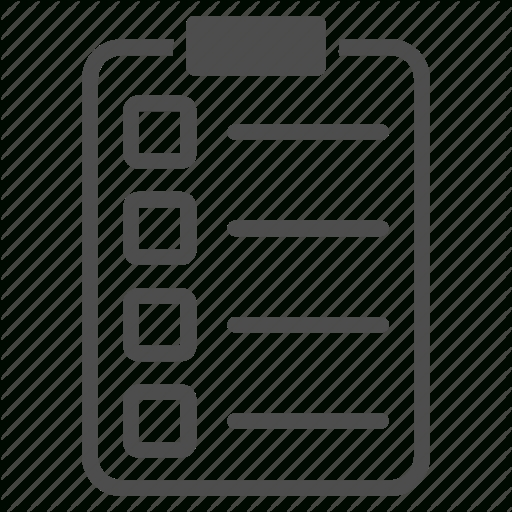 Check List, Checklist, Document, Exam, Invoice, Report, Tasks Icon inside Checklist Icon Transparent 25946