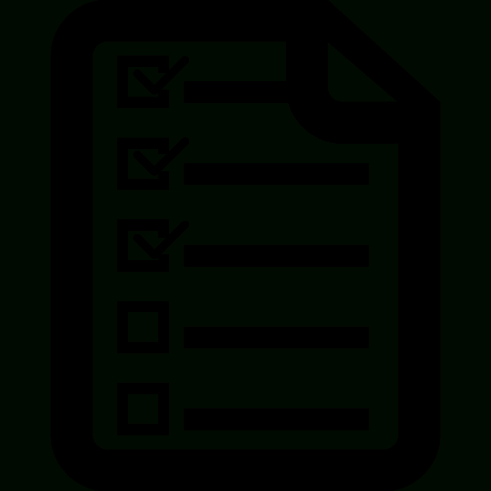Checklist-Icon-Checklist-Icon-Png-List-Icon-7 | Roadrunner Recycling intended for Checklist Icon Black And White 26163