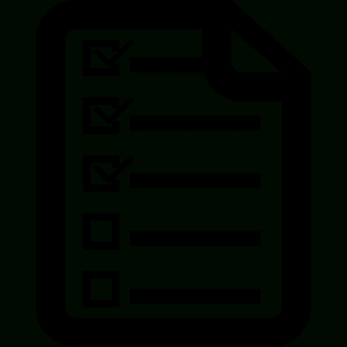 Checklist-Icon-Checklist-Icon-Png-List-Icon-7 - Taylor Pearson regarding Checklist Icon Transparent 25946
