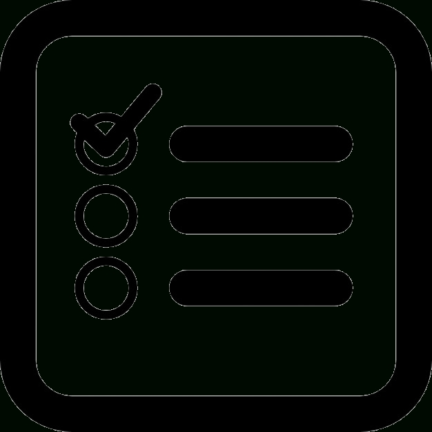 Checklist Transparent Icon | Web Icons Png within Checklist Icon Transparent 25946