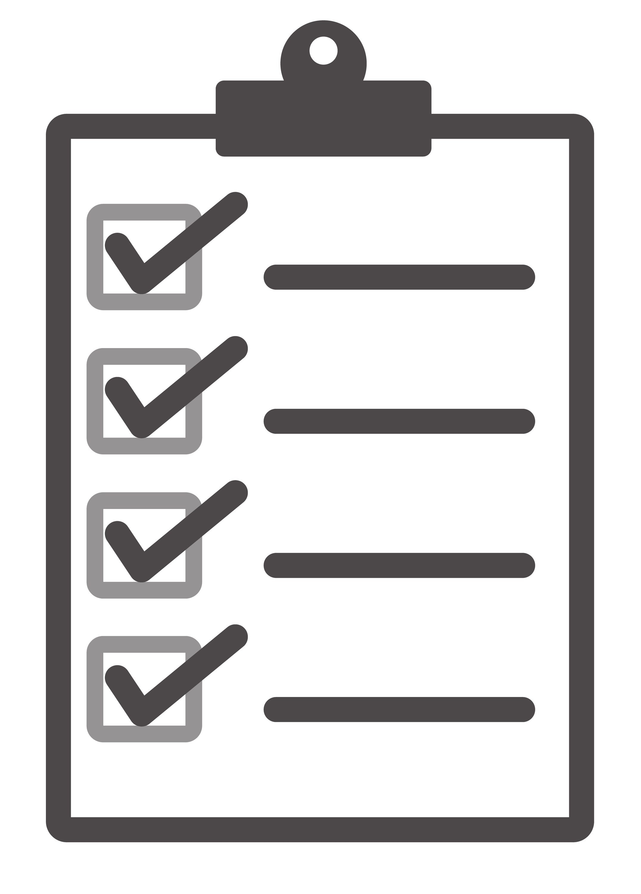 Checklist Vector | World Of Example intended for Checklist Vector 26183