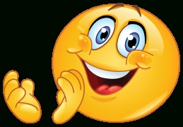 Clapping Emoticon in Smiley Stickers For Facebook 26754