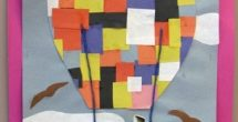 Construction Paper Art Projects