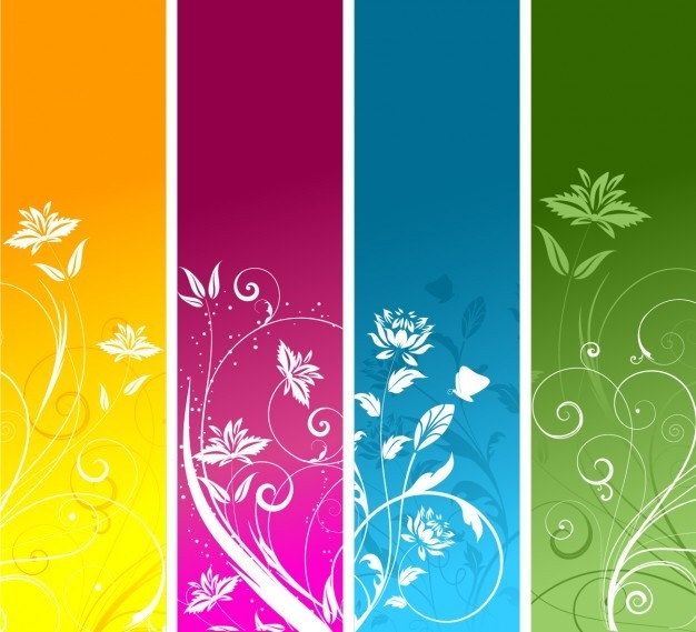 Colorful Bookmark Templates Vector | Free Download intended for Bookmark Backgrounds Free Download 27170