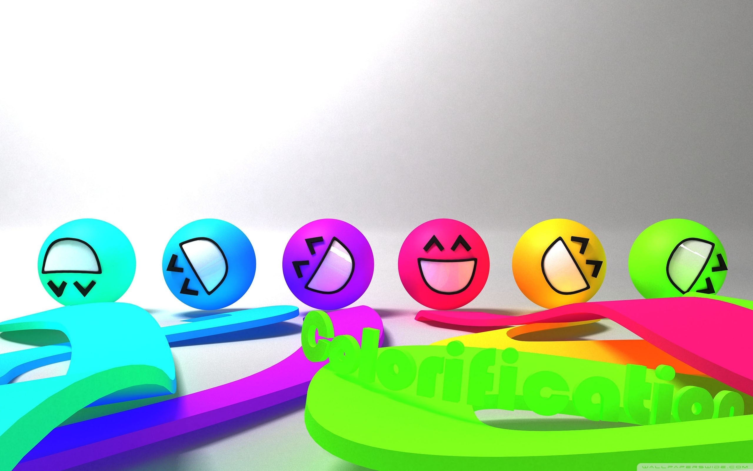 Colorful Smiley Faces ❤ 4K Hd Desktop Wallpaper For 4K Ultra Hd pertaining to Colorful Smiley Faces Backgrounds 30574