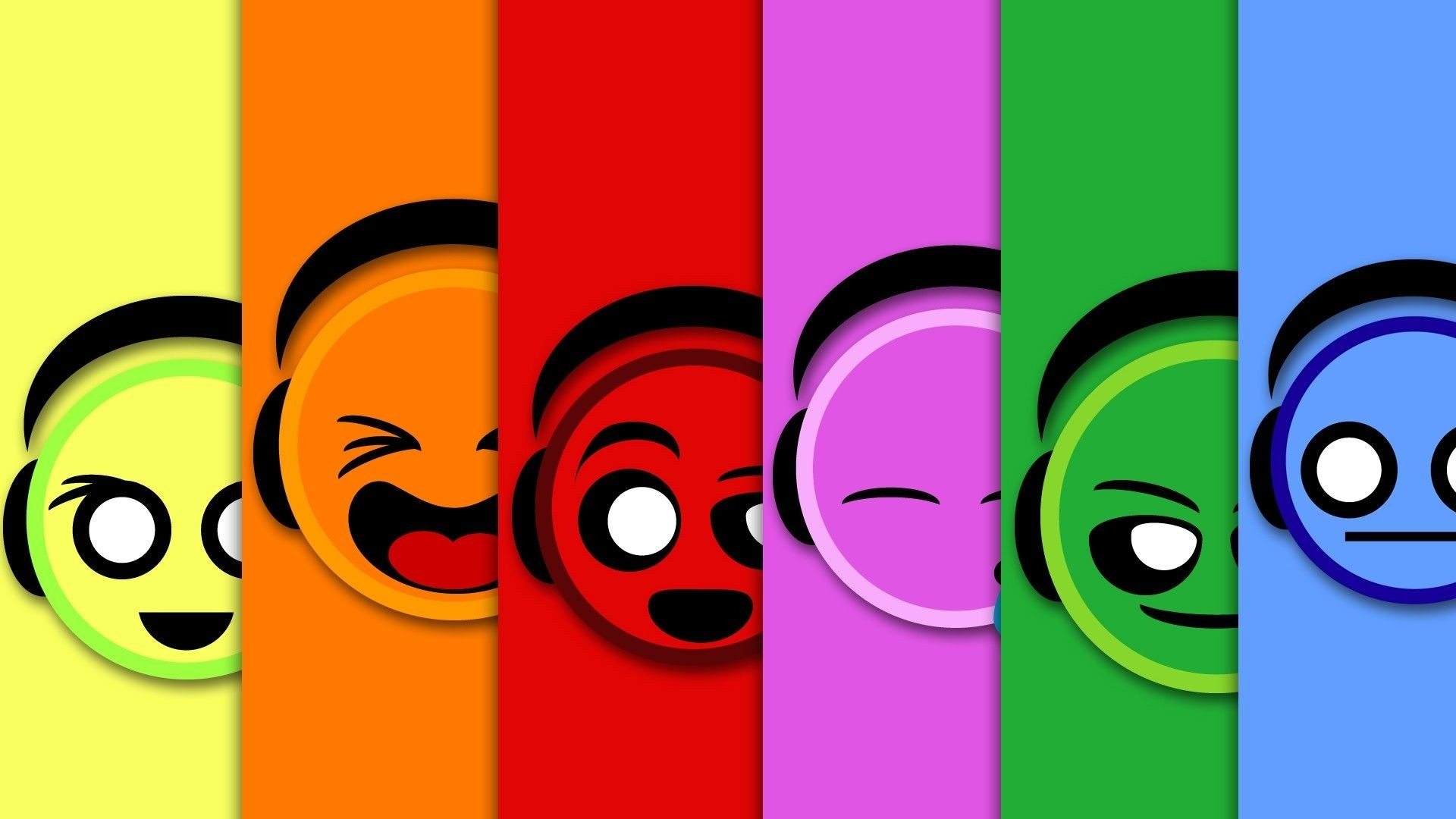 Colorful Smiley Faces | Sooo Cute & Lovely ♥♥♥ | Pinterest intended for Colorful Smiley Faces Backgrounds 30574