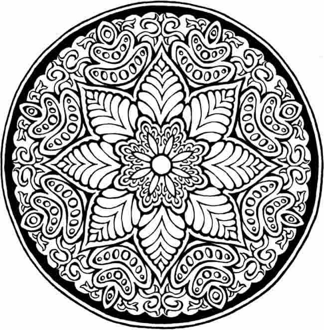 Coloring-Pages-2 in Detailed Pattern Coloring Pages 29461