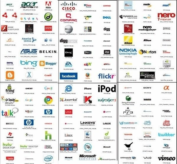 Companies Logos With Name #9252 With List Of Logos With Names Of regarding List Of Logos With Names Of The Company 26422