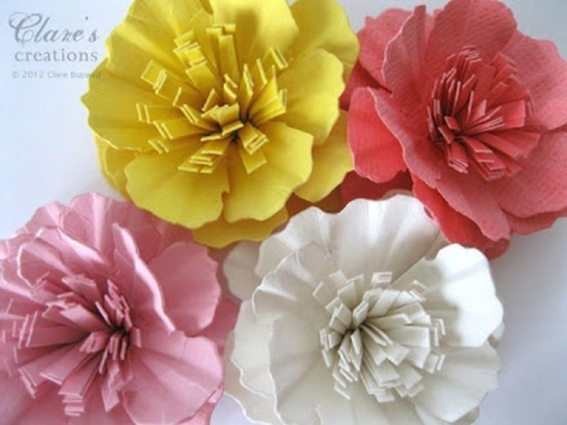 Construction Paper Flowers Ideas Diy Projects Craft Ideas & How for Construction Paper Flowers 28616