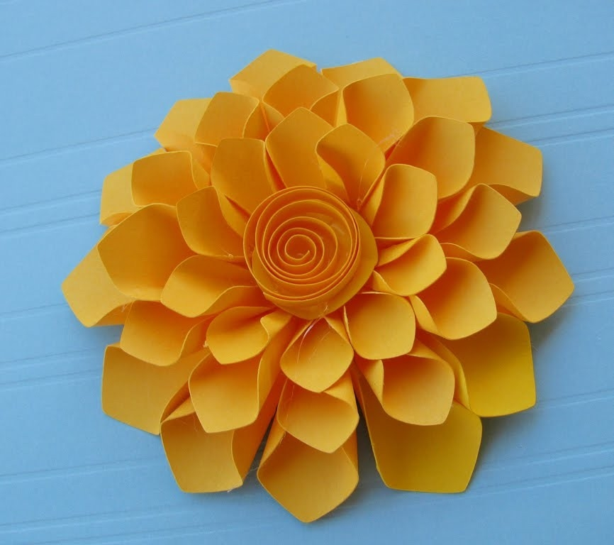 Construction Paper Flowers | Paper Corsage And Free Download intended for Construction Paper Flowers 28616