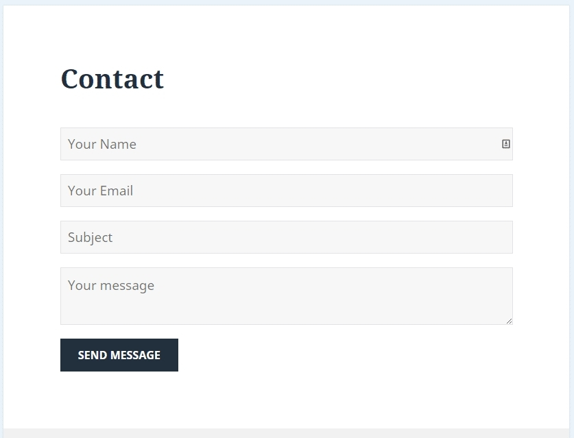 Contact Form Png | World Of Example in Contact Form Png 25823