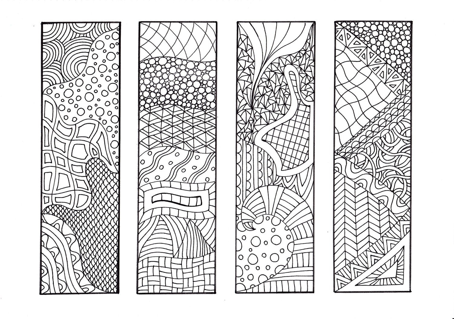 Cool Bookmarks To Print And Color | World Of Example with Cool Bookmarks To Print And Color 27220