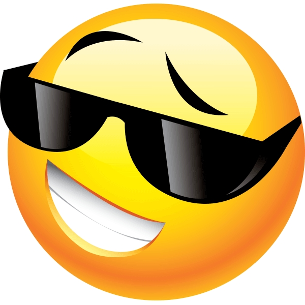 Cool Shades | Smiley, Smileys And Emojis in Cool Smiley Face With Shades 30564