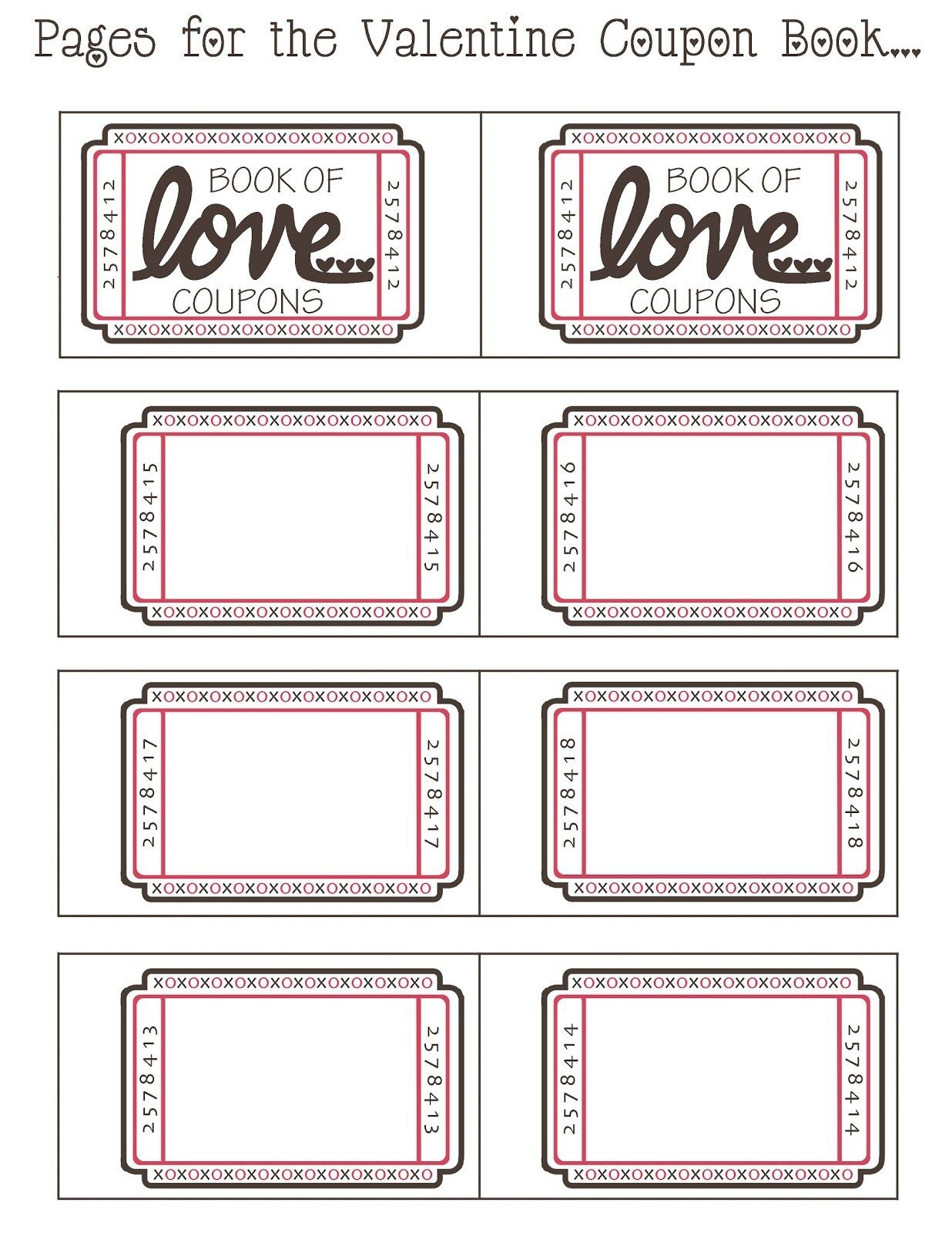 Love Coupon Template Microsoft Word | Examples and Forms