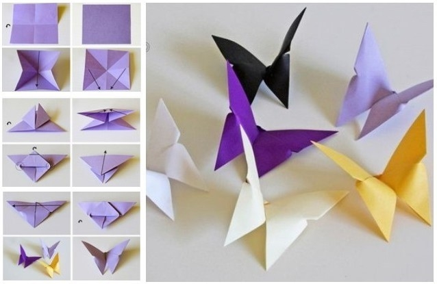 Craft Ideas For Kids With Paper Step By Step | Ye Craft Ideas intended for Easy Crafts For Kids With Paper Step By Step 27847