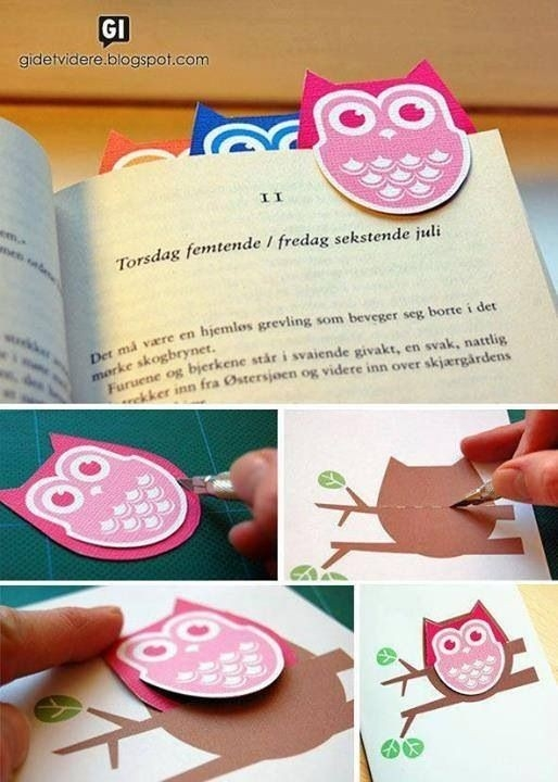 Creative Diy Bookmarks Ideas intended for How To Make Handmade Bookmark Designs 29592