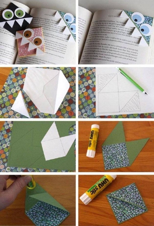 Creative Diy Bookmarks Ideas throughout Diy Bookmarks Tutorial 29672