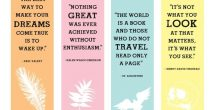 Creative Handmade Bookmarks Design With Quotes