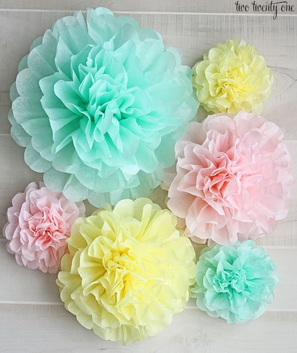 Creative Tissue Paper Crafts For Kids And Adults - Hative intended for Tissue Paper Crafts For Adults 26523
