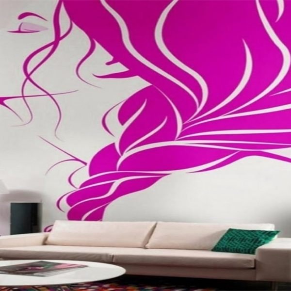 Creative Wall Painting Ideas For Living Room – Youtube regarding ...