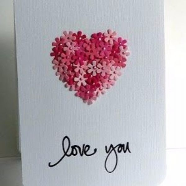 Cute Handmade Love Cards For Him Journalingsage Love Cards For Him intended for Love Cards For Him Handmade 28192