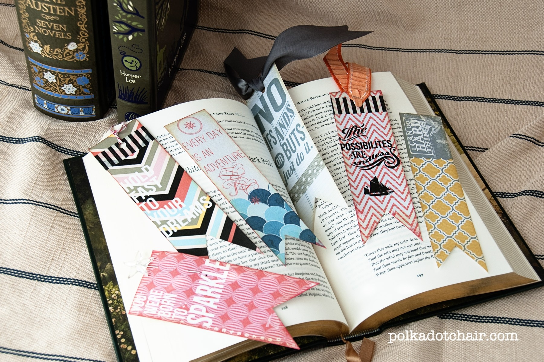 Cute Printable Bookmarks inside How To Make Handmade Bookmark Designs 29592