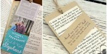 Diy Bookmarks For Wedding Favors