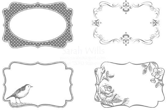 Decorative Labels Template | Professional Template with regard to Decorative Label Template 27730