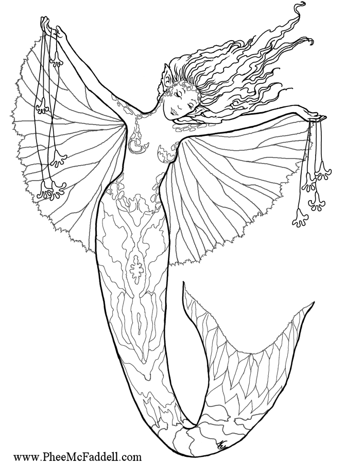 Detailed Coloring Pages For Adults |  Coloring Pages! She Has with regard to Detailed Coloring Pages Of Mermaids 29451