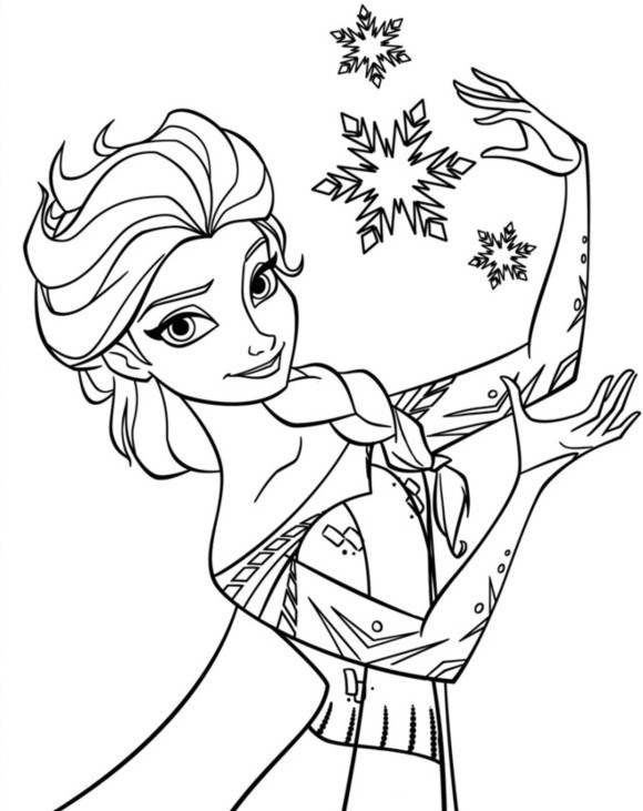 Disney Frozen Coloring Pages To Download regarding Disney Frozen Coloring Pages For Girls Elsa 29421