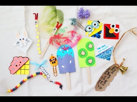 Diy 10+ Creative Bookmark Ideas!! - Youtube with Cool Bookmark Designs To Make 29602