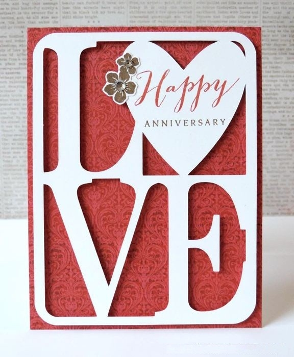 Diy Anniversary Cards Ideas For Her & Him - Handmade4Cards within Love Cards For Him Handmade 28192