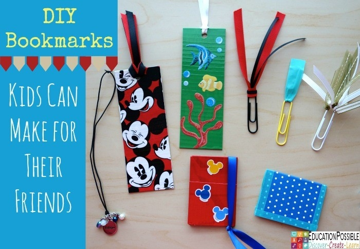 Diy Bookmarks Kids Can Make For Their Friends inside How To Make Bookmarks For Students 29562