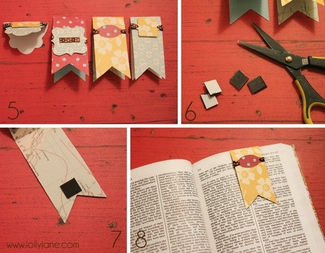 Diy Bookmarks Tutorial | World Of Example inside Diy Bookmarks Tutorial 29672