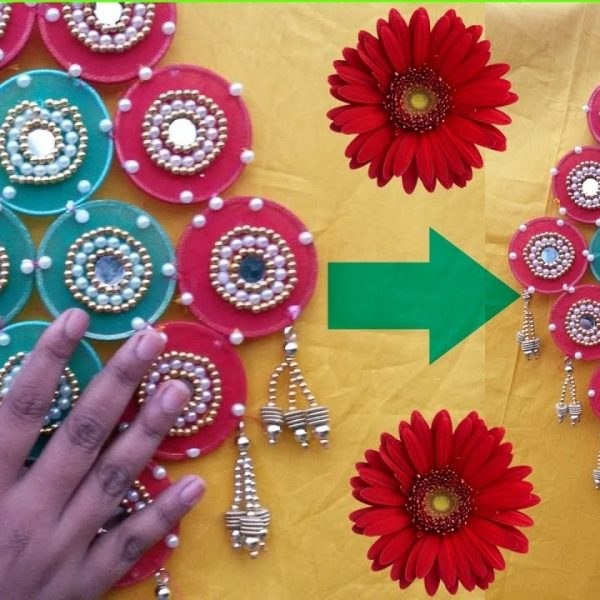 Diy Crafts Wall Hanging Craft Ideas Room Decor Easy Pertaining To Art And For Kids With Waste Material
